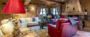 The three-bedroomed chalet Lara is ideal for smaller skiing parties