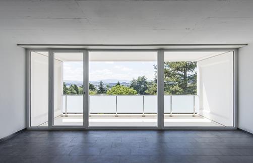 Une porte fenêtre Tryba